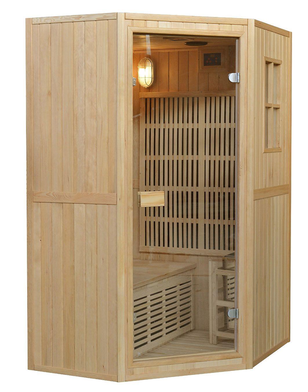 Sauna Combinata 125x110 Per Due Persone Sia Infrarossi Che
