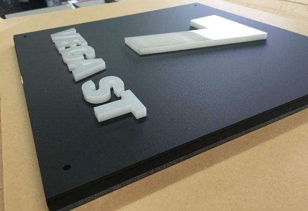 Light Box House/Business Sign/Plaque. Made to Order.