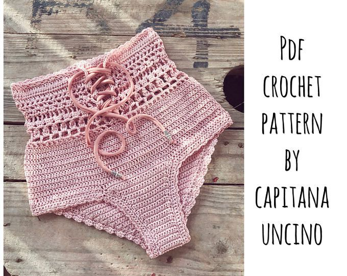 PDF-file for Crochet PATTERN, Angela Crochet Bikini Bottom Sizes XS ...