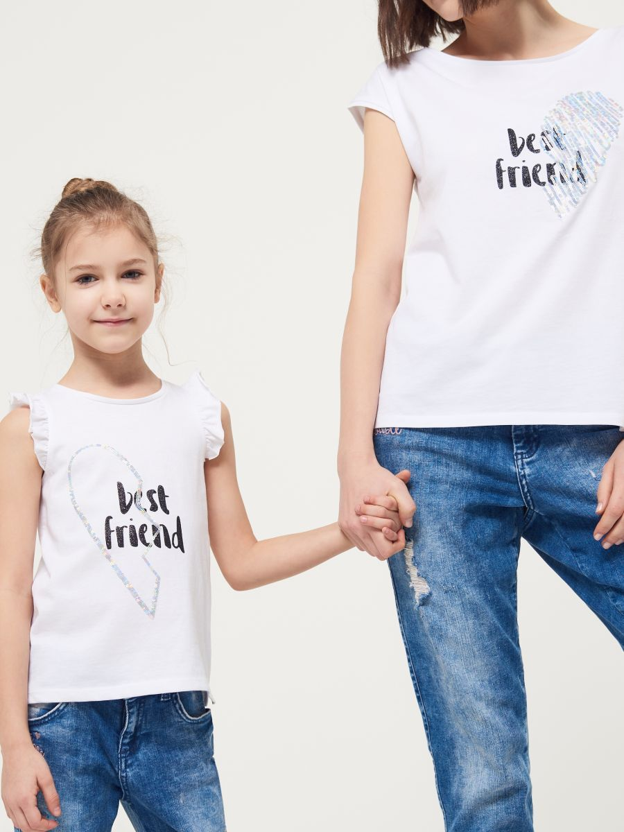Koszulka z napisem LITTLE PRINCESS, MOHITO, RG531 00X | Koszulki