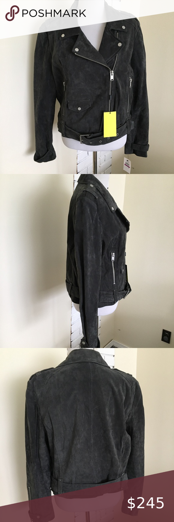 Nwt Marc New York Suede Leather Moto Jacket Xxl New Marc New York Andrew Marc Sabrina Suede Leather Moto Jacket Womens Black Leather Jacket Leather Coat Womens [ 1740 x 580 Pixel ]