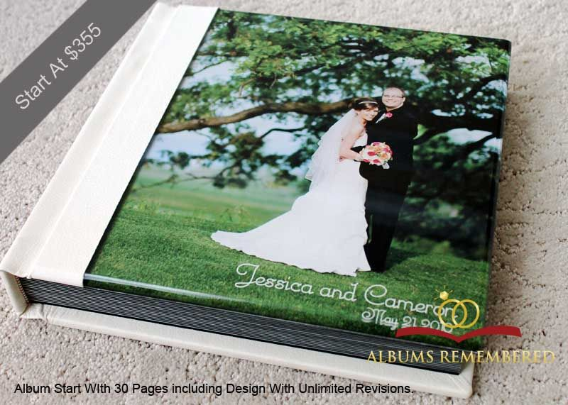 Acrylic Cover Flush Mount Wedding Album Prices Start At 355usd Including Design With Unlimited R Flush Mount Wedding Album Wedding Professional Bridal Company