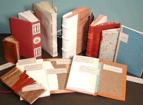 the iowa book works historical bookbindings set of ten prototypes