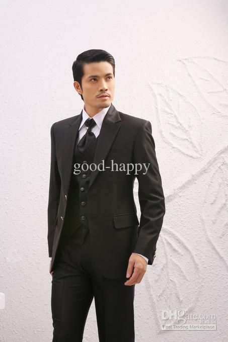 Wholesale Top Quality Mens Suits Wedding Tuxedos Prom Clothing ...