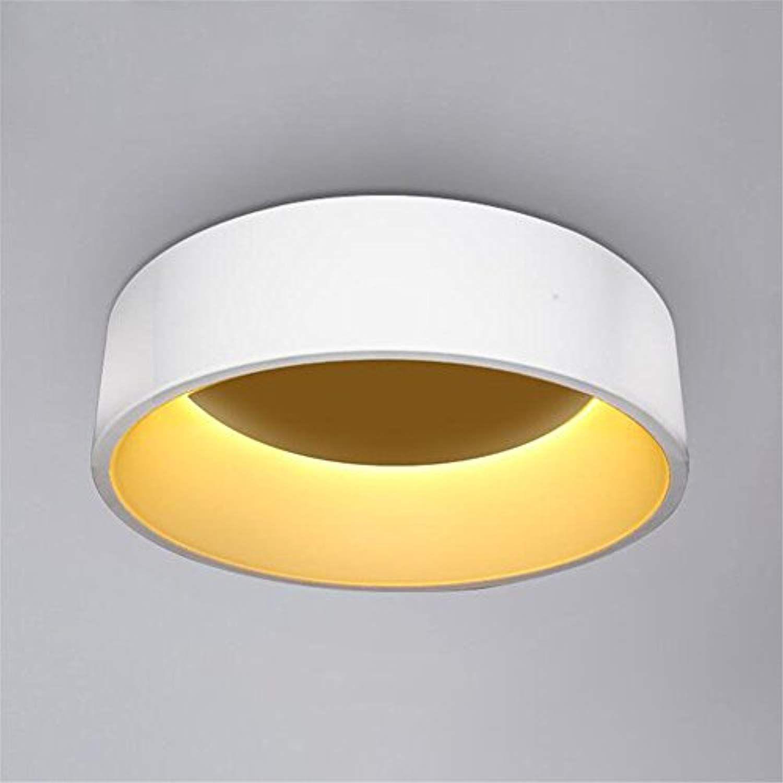 Mengzhu Michelle Simple Modern Round Led Ceiling Light White Grey