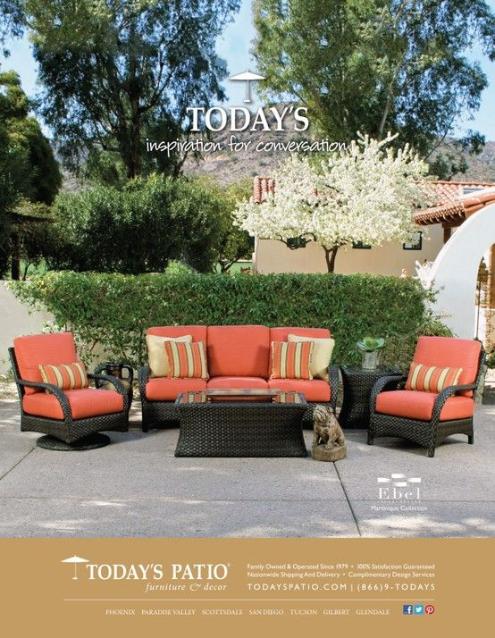 Ebel Martinique Collection Today S Patio Magazine Ad Patio