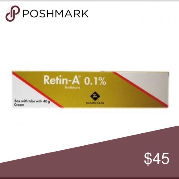 RETIN A 0.1%NEW SEALED 40mg tube cream EXP.FEB2018 RETIN A (tretinoin