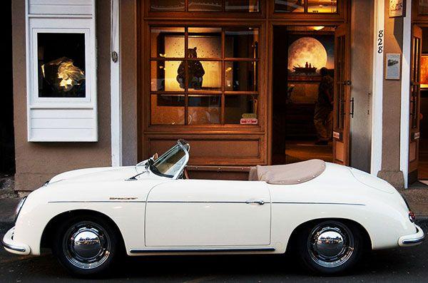 nautical design and organization : #cars #white #convertiable