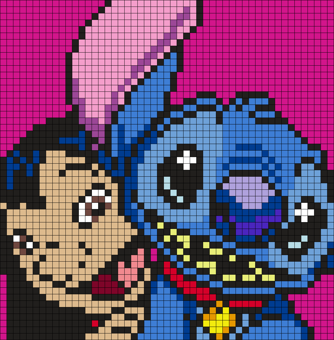 Lilo and stitch square perler bead pattern bead sprite lilo and stitch square perler bead pattern bead sprite graph crochetc2c bankloansurffo Image collections