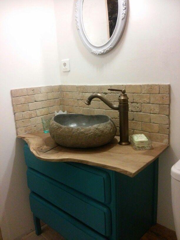 Meuble vasque salle de bains commodes et chiffoniers Pinterest