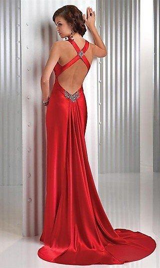 Vestidos longos para formatura direito