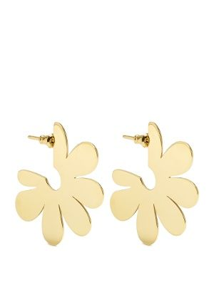 Flower small gold-plated earrings | Simone Rocha | MATCHESFASHION.COM US