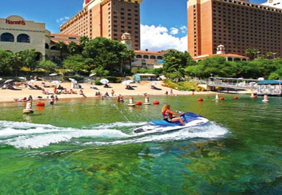 Laughlin, Famous City in Nevada with Some Attractions on the River and Resort