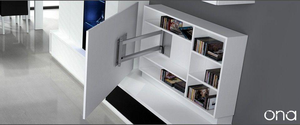 08 panel tv soluciones para pantallas planas de gran - Muebles para televisiones planas ...