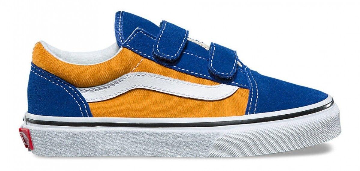 Vans Kids Old Skool V (Pop) OG Blue/OG