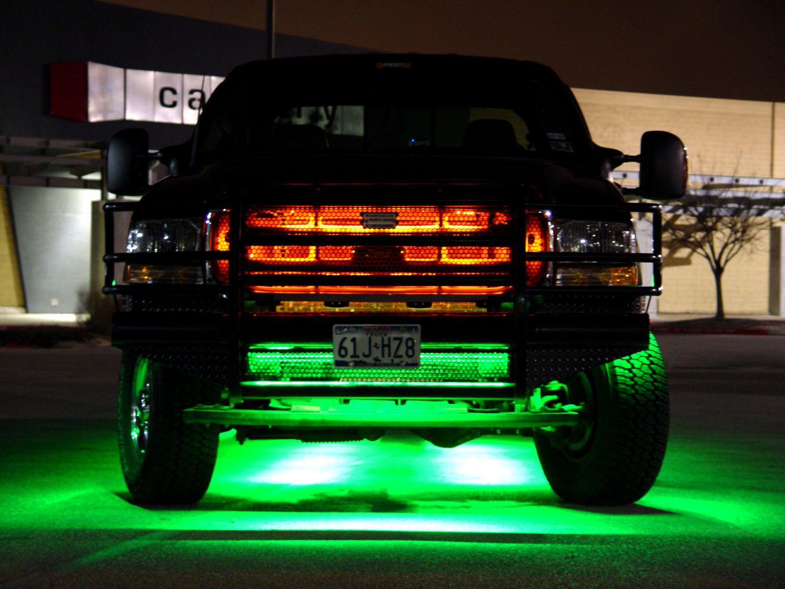 Ultimate Led Truck Grille Kit Led Truck Lighting Truck Grilles Led Lights For Trucks Truck Lights