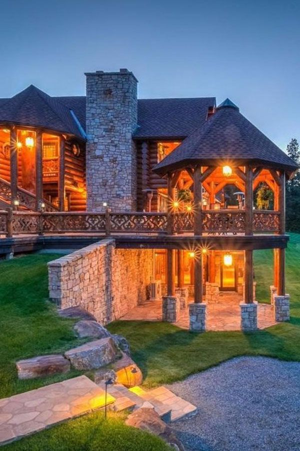 Impressive log homes hd pictures pinterest home and how to make also rh in
