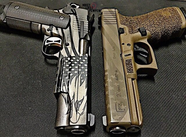 Pistols, guns, weapons, self defense, protection, 2nd amendment, America, firearms, munitions #guns #weapons