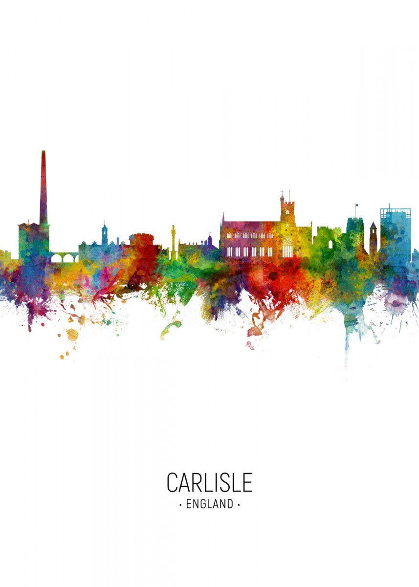 Skyline Portrait Colour