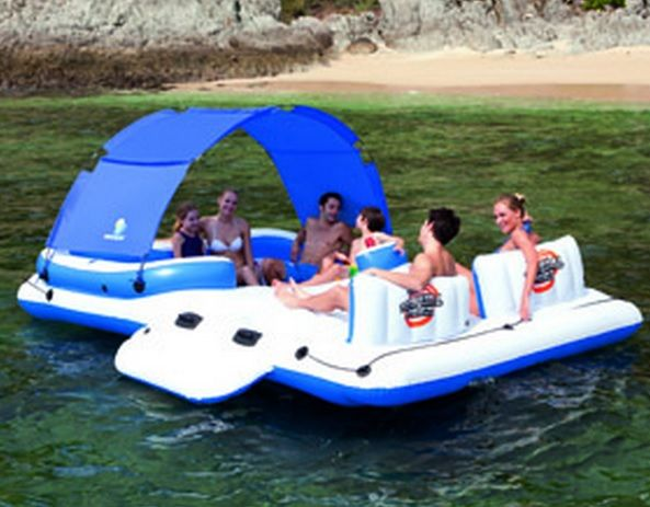 New 2015 Model Giant Cabana Party Raft Giant