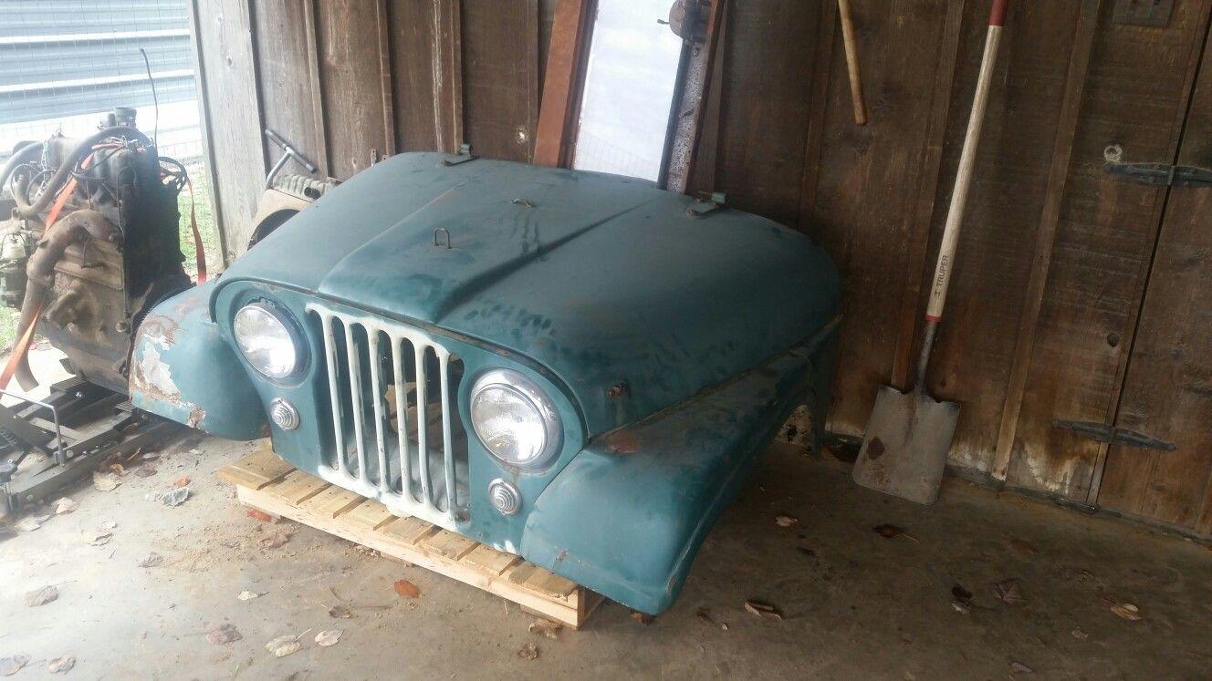Pin by OBIE STARR on 1957 Willys Jeep CJ5 Frame off Build | Pinterest