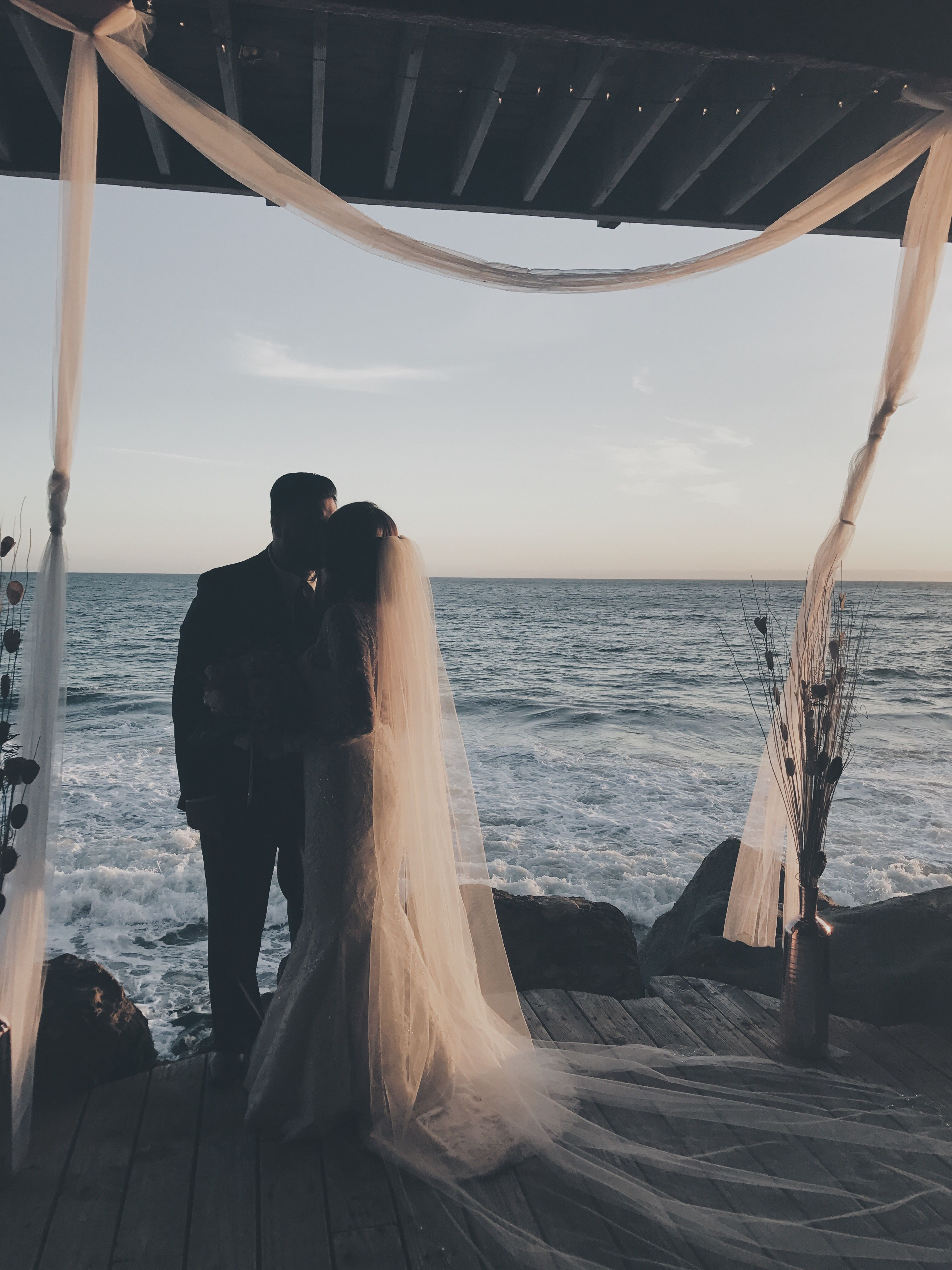 Sunrise beach wedding  Beach wedding  Beach Wedding  Pinterest  Wedding Beach and Pictures