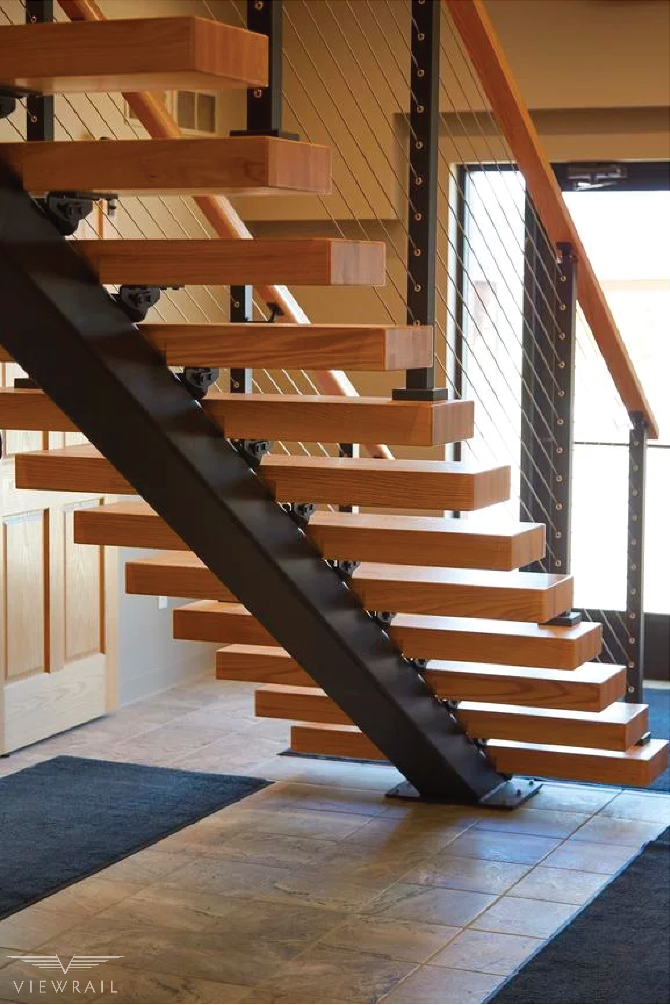 Best Floating Stairs In 2020 Floating Stairs Modern 400 x 300