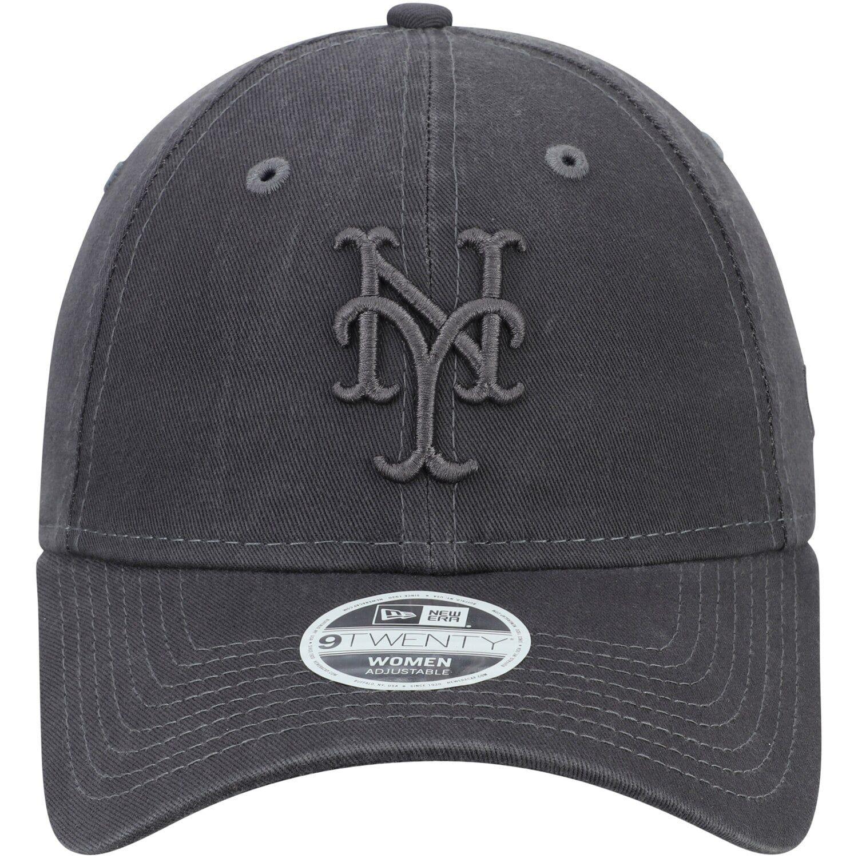 "MLB Cap New Era 9Twenty New York Mets /""Core Classic/"" Strapback Hat Graphite"