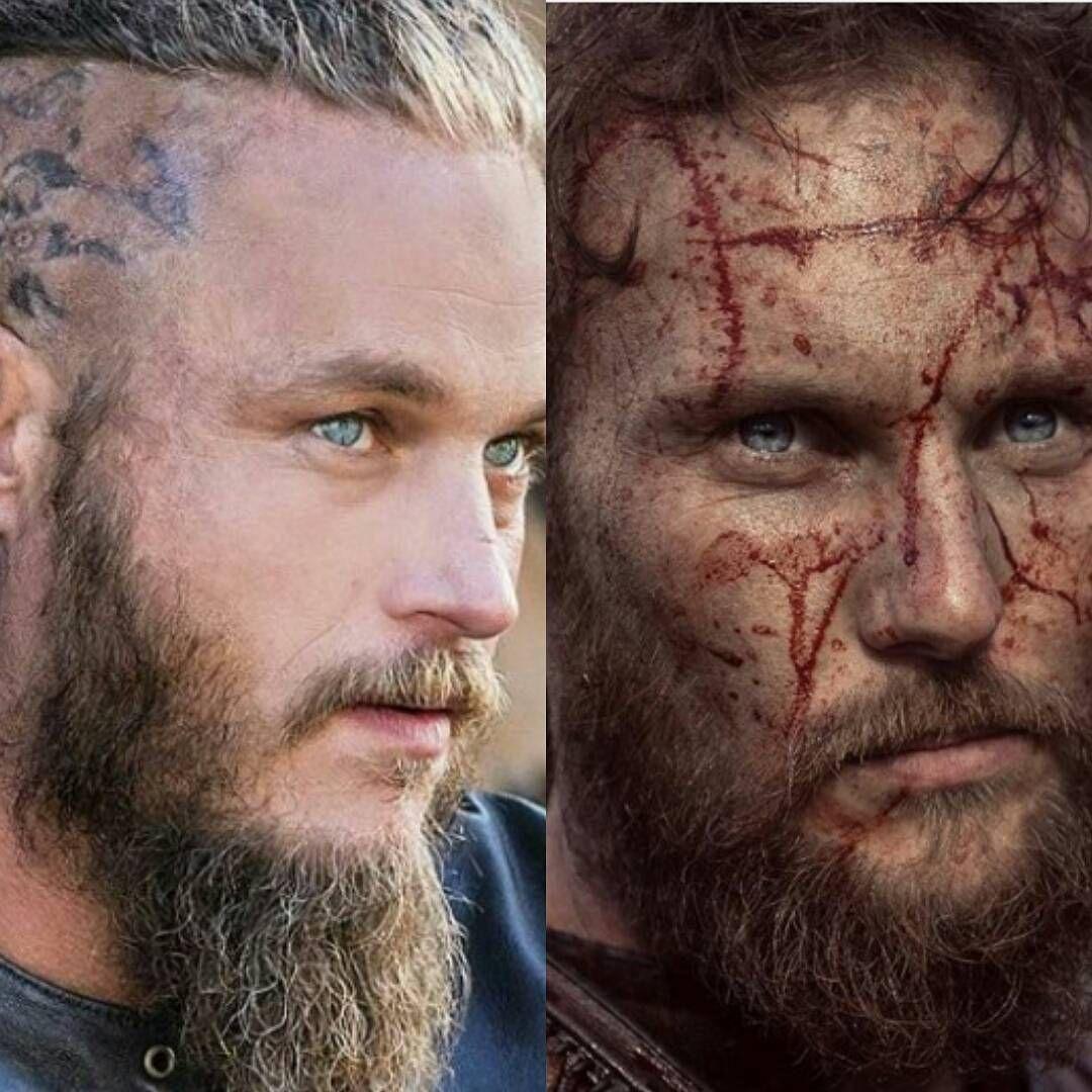 Ragnar/Ubbe look very similar #vikings #historyvikings #ragnarsson