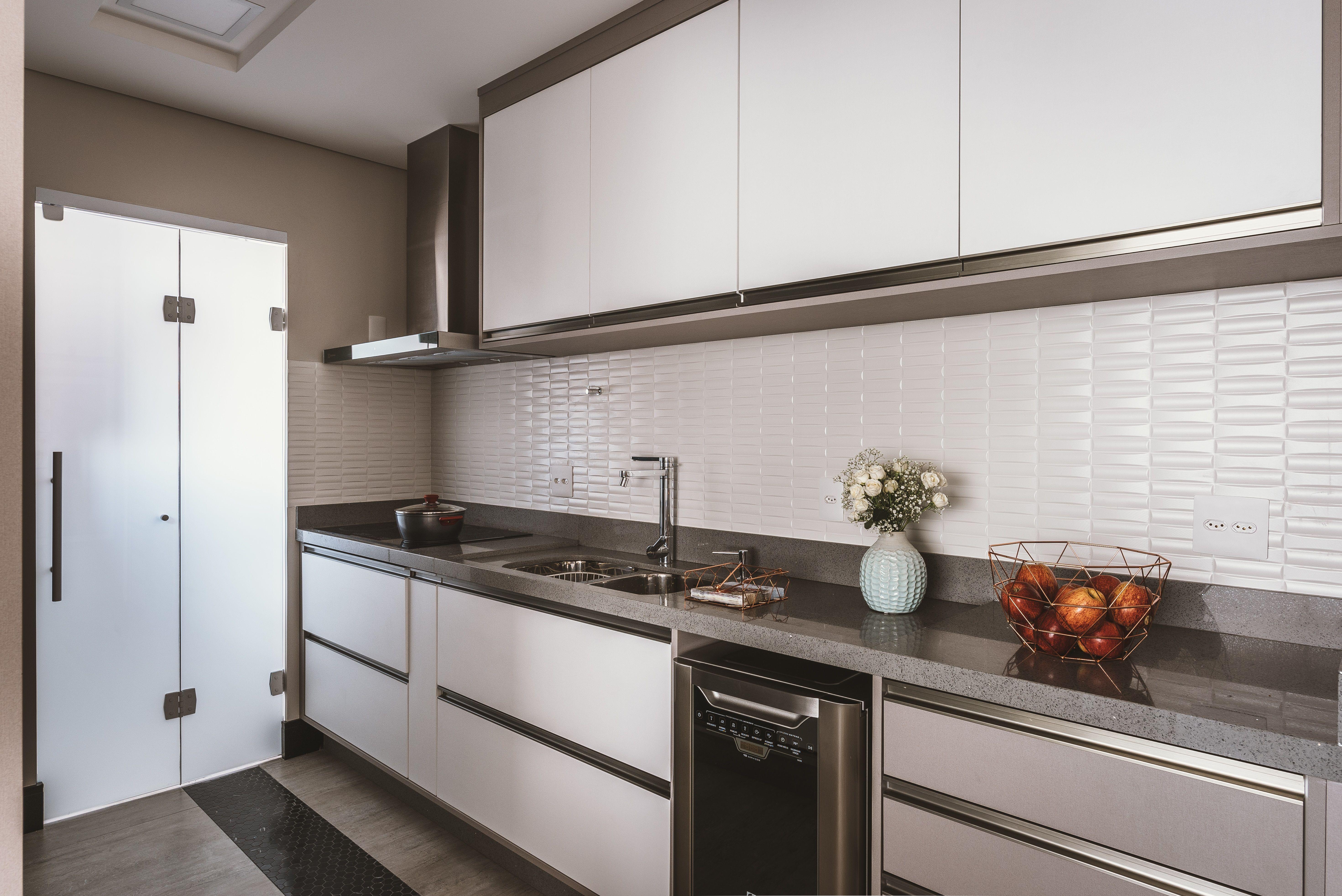 Cozinha Sob Medida Mdf Branco Platinum Masisa Projetos Executados