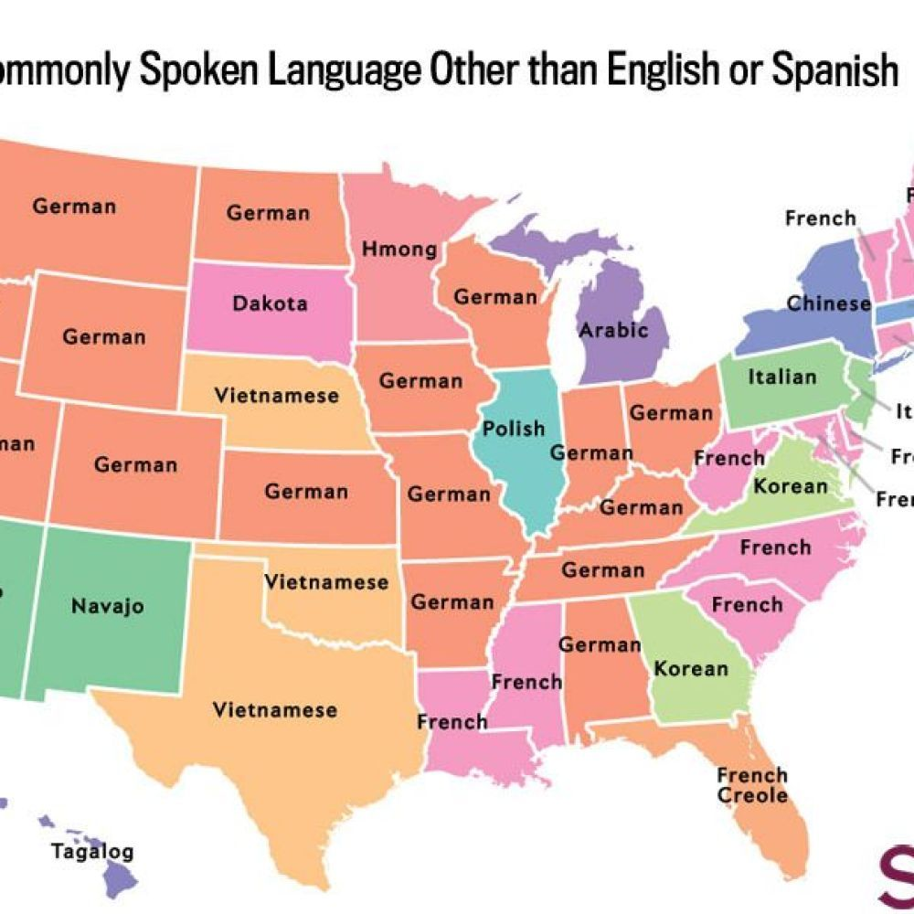 The Most Common Language Spoken In Your State Besides English And - Most popular language in world after english