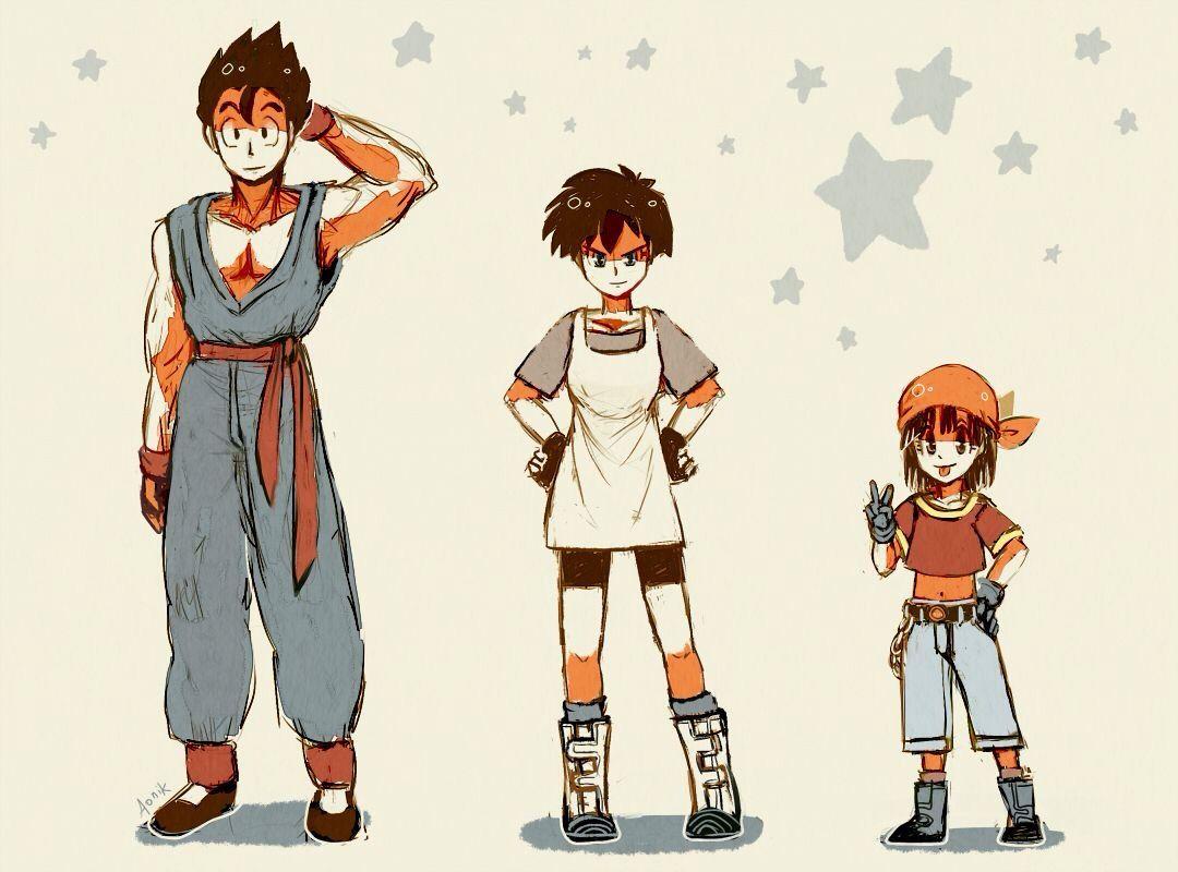 Gohan, Videl, and there Future daughter Pan   Dragon Ball ...   1080 x 800 jpeg 96kB