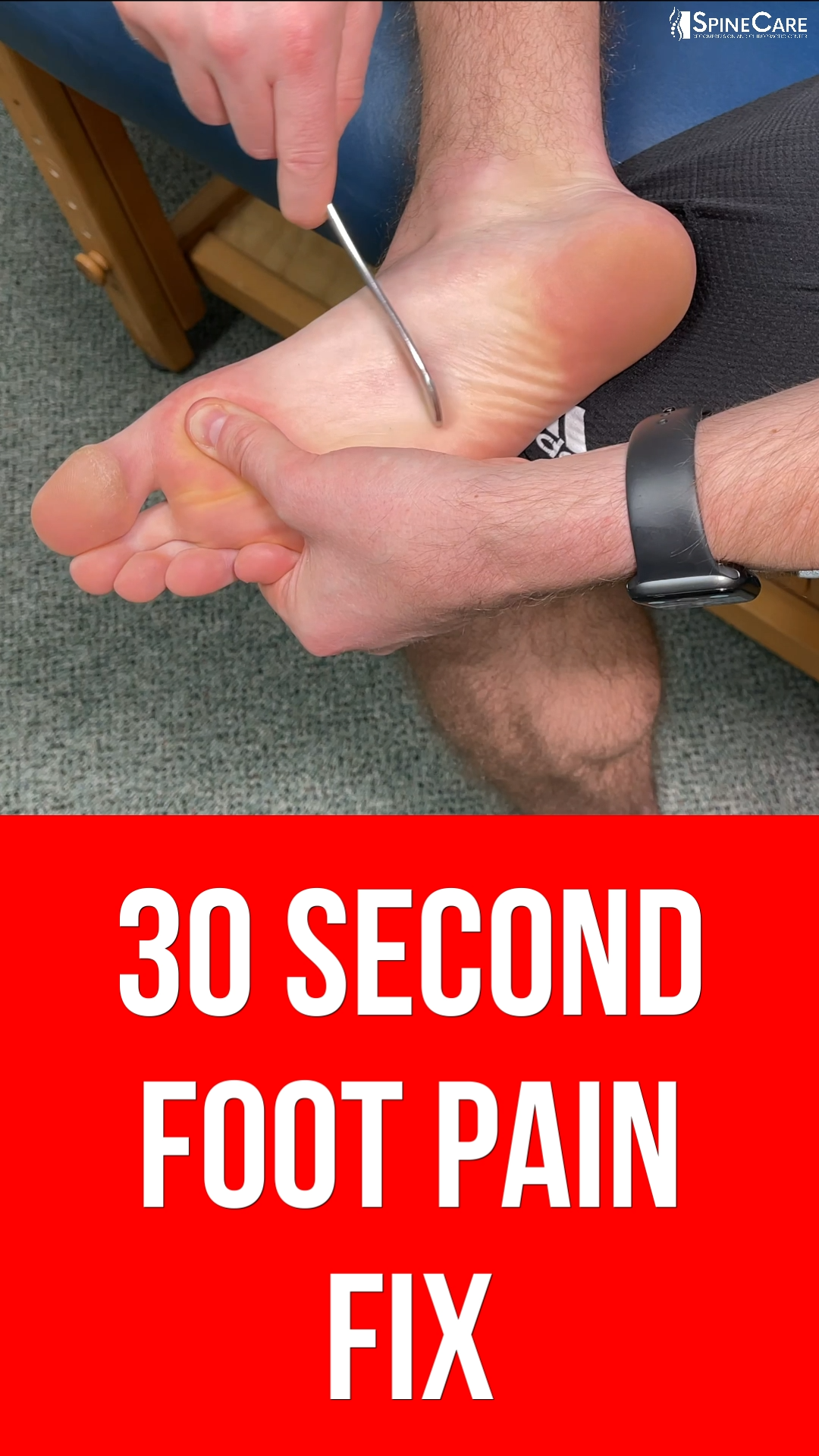 How to Relieve Foot Pain in 30 SECONDS