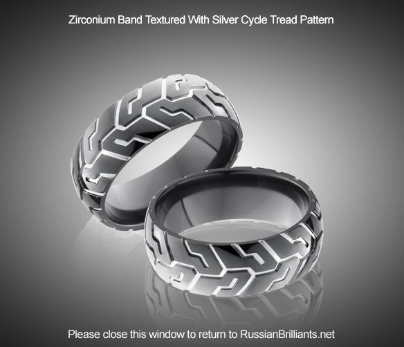 cool and unique wedding bands - Biker Wedding Rings