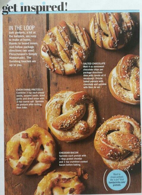 homemade soft pretzel toppings bakeing desserts pinterest rh pinterest com