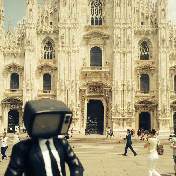 Panoramiko de parche por Milano.