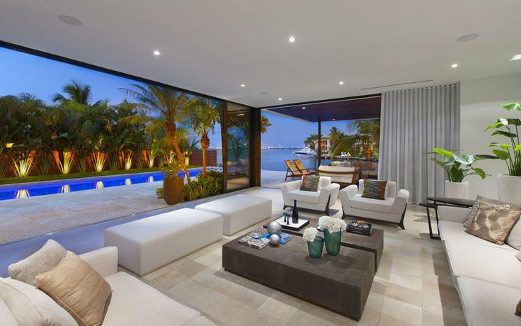 Pin von 🦉 🅴🅻🅻🅴🅽 🆂🅰🆅🅰🅶🅴🦉 auf Modern House miami beach in