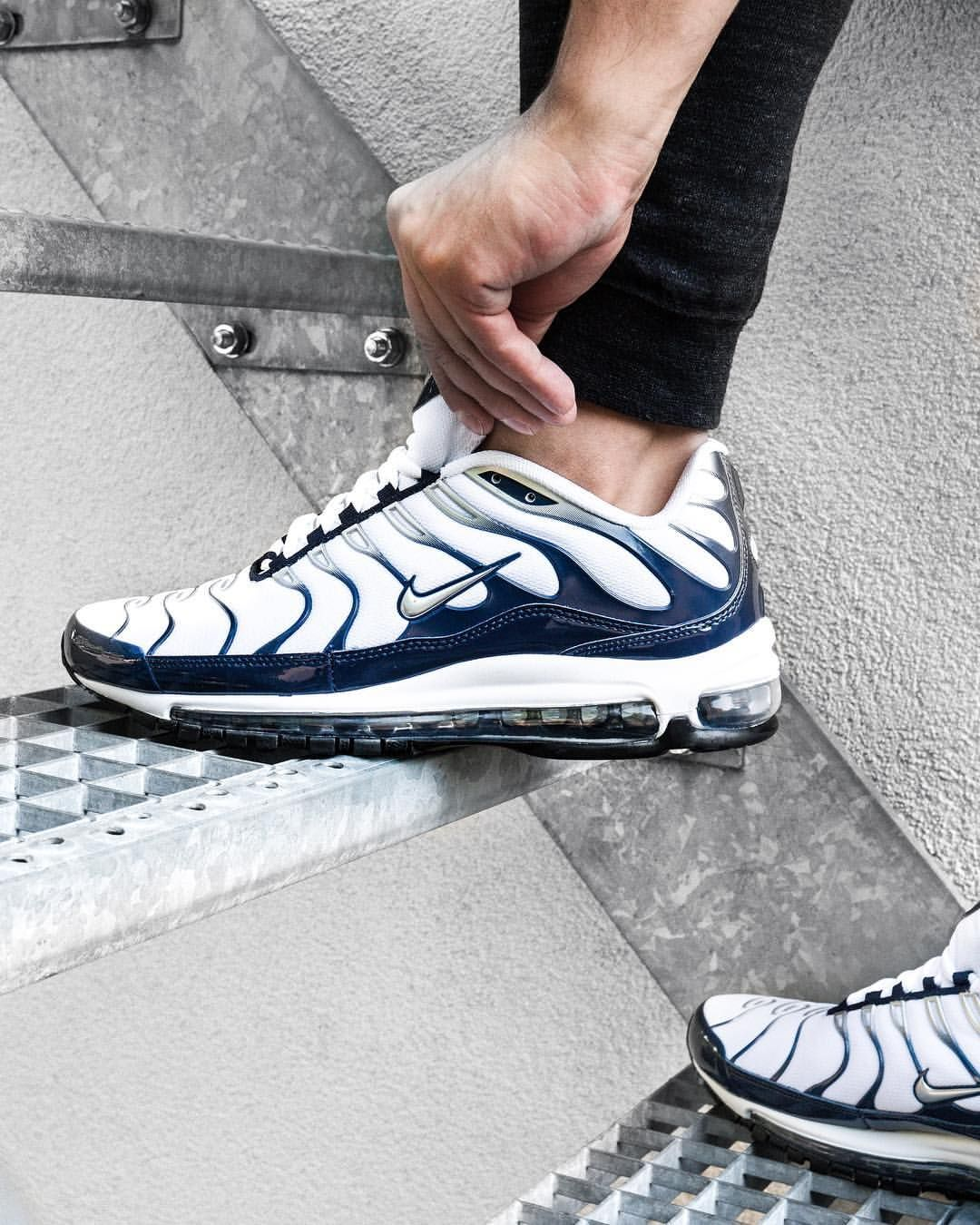 Heating the streets. The @nikesportswear #AirMax 97Tuned 1