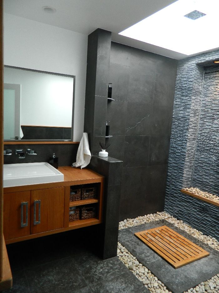 Interior design idea photo design idea bali bathroom for Balinese bathroom design