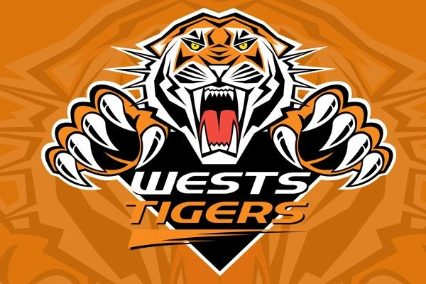 Show Your Support For The Wests Tigers Nrl Rugby Australia Wests Tigers Pinterest Tiger Logo Rugby And Rugby League
