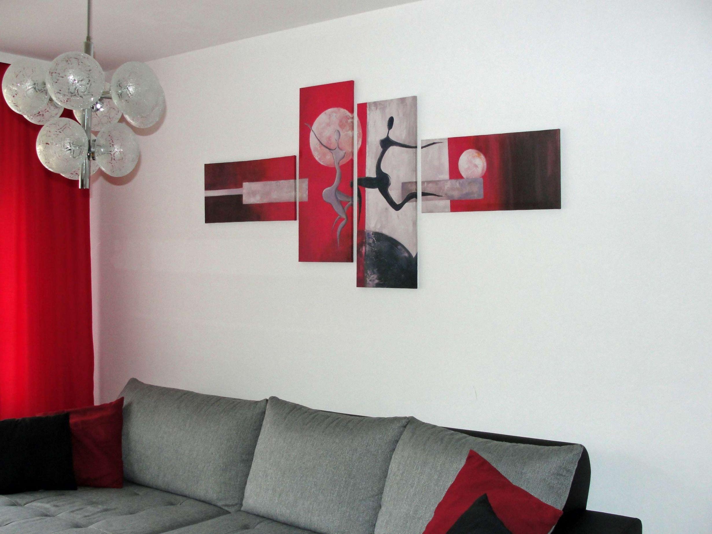 Frisch Wohnzimmer Deko Rot  Rote wohnzimmer, Wohnzimmer