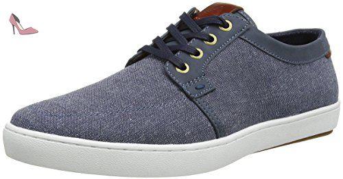ALDO Iberarien, Sneakers Basses Homme - Bleu (2 Navy) - 42 EU