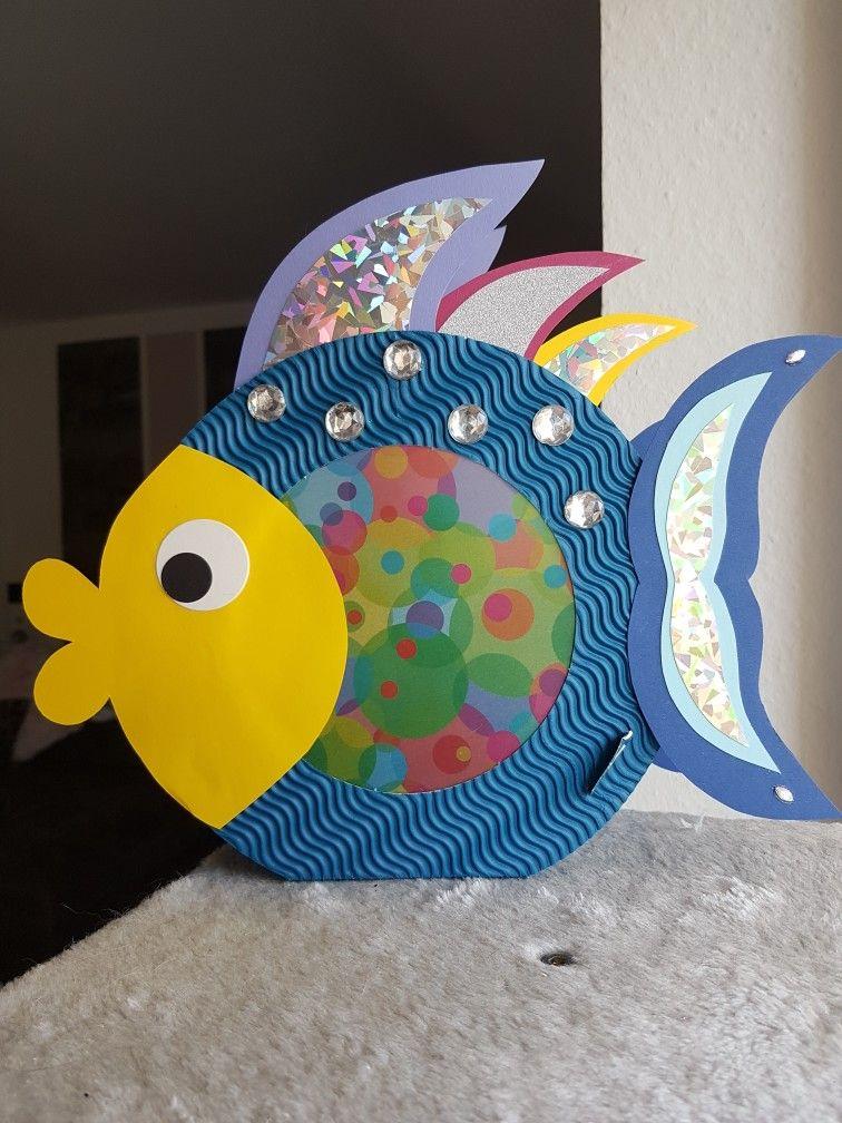 Regenbogenfisch Laterne Laternen Basteln Laterne Basteln