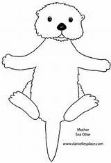 sea otter coloring pages - Otter Coloring Pages