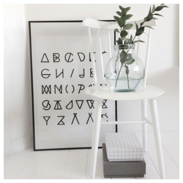 #alphabet poster from RK Design