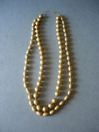 Gold necklace, XIX