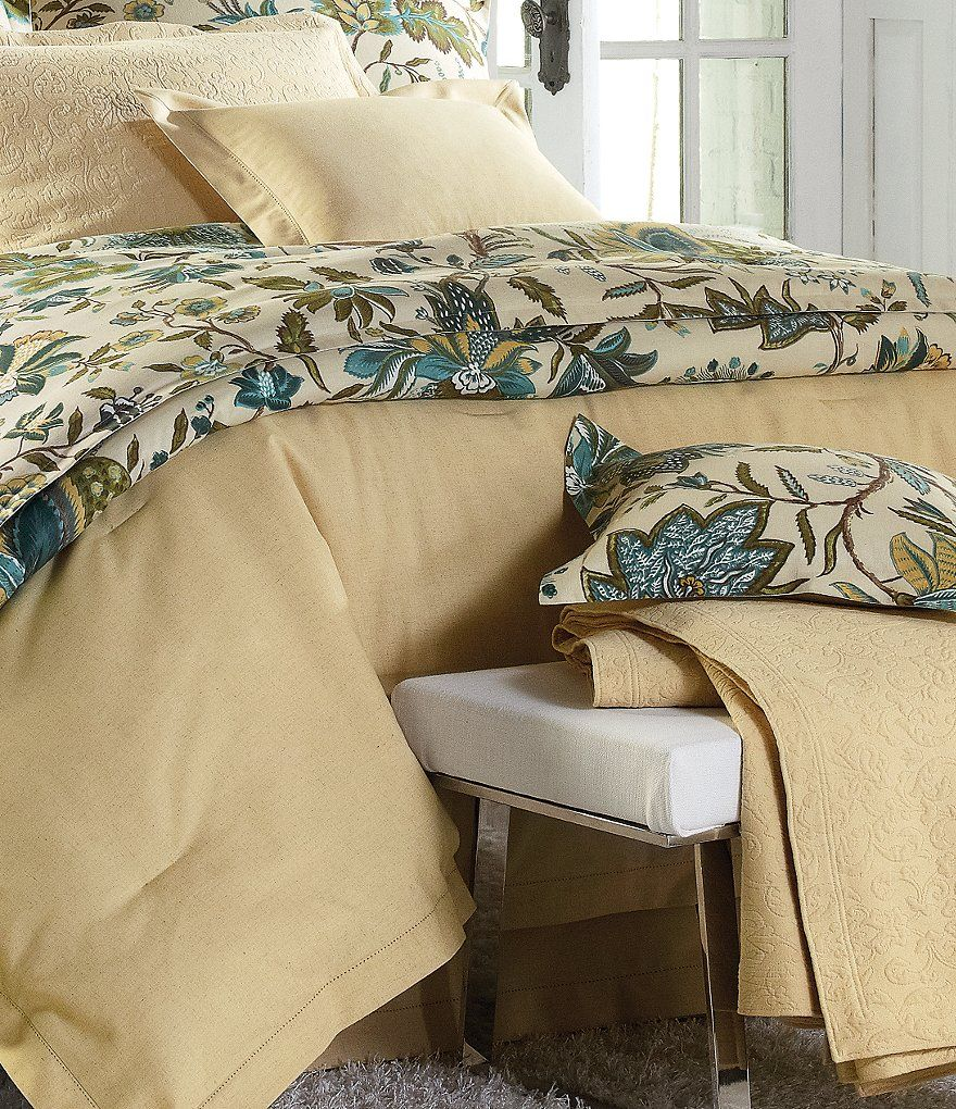 8fd59247e7fae Wheat Villa by Noble Excellence San Marino Scrollwork Coverlet