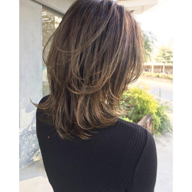 レイヤーウルフ Bricolage ブリコラージュ のヘアスタイル 美容院 美容室を予約するなら楽天ビューティ ヘアカット ヘアースタイル ボブヘア