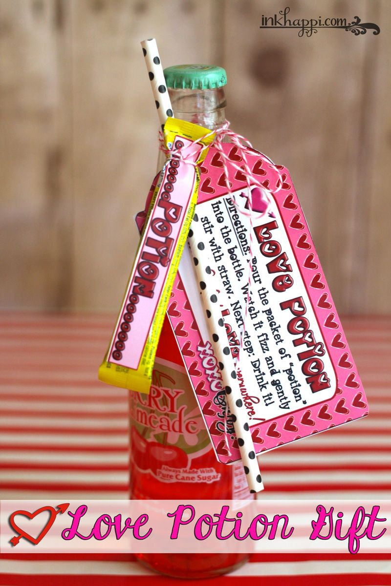 Love Potion Valentine Gift Idea... How Sweet it is Cute