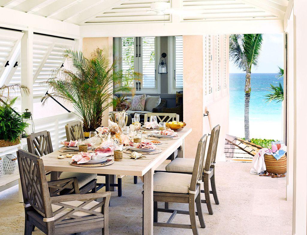 Una casa rústica y playera con un resultado de lo más elegante